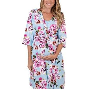 Baby Be Mine Maternity Nursing Delivery Robe